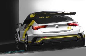 Powered by Opel: The new Astra TCR comes with a two-liter turbocharged engine with roughly 330 hp.
